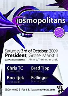 Cosmopolitans (flyer)