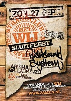 WIJ Sluitfeest (flyer)