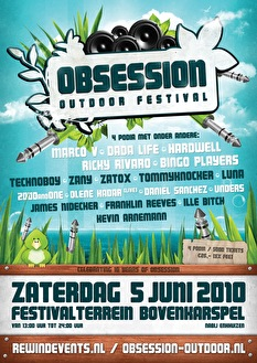 flyer Obsession Outdoor Festival