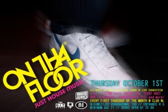 On Tha Floor (flyer)