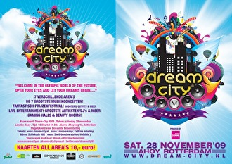 Dream City 2009 (flyer)