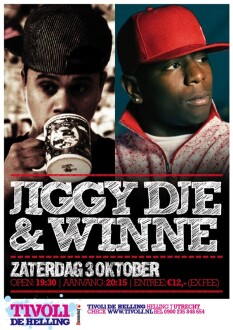 Jiggy Dje & Winne (flyer)