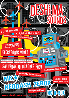 Deshima Sounds (flyer)