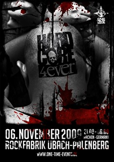 Hardcore 4 Ever 2009 (flyer)
