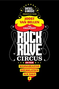 The Greatest Rock N Rave Circus (flyer)