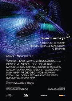 Time warp (flyer)