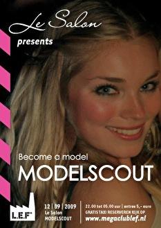 Modelscout (flyer)