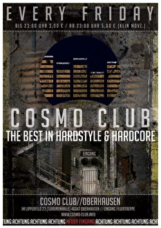 Cosmo Club (flyer)