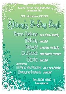 DJ Skinny's Birthday Bash (flyer)