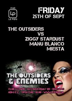 Outsiders & Enemies (flyer)