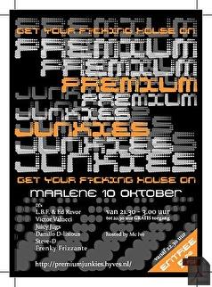 Premium Junkies (flyer)