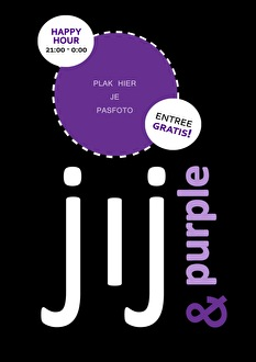 Jij & Purple (flyer)