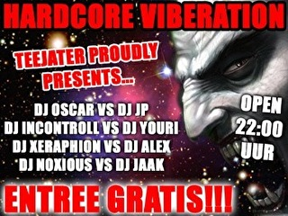 Hardcore Viberation (flyer)