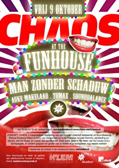 Chaos at the Funhouse (flyer)