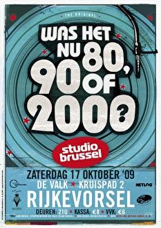 Was het nu 80, 90 of 2000? (flyer)