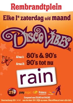 DiscoVibes 80's & 90's (flyer)