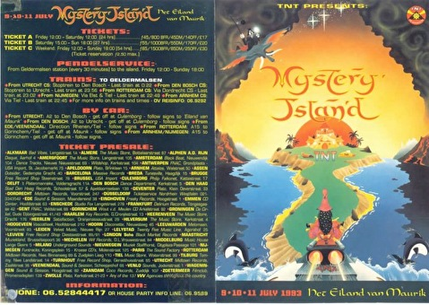 Mystery Land · 1993 Tickets, line up & info