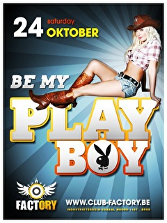 Be My PlayBoy (flyer)