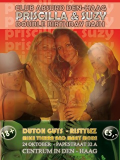Double Birthday Bash (flyer)