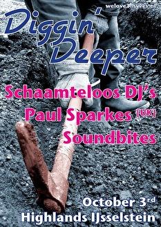 We love diggin' deeper (flyer)