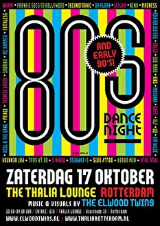 80's en 90's Dance Night (flyer)