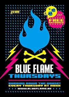 Blue Flame Thursdays (flyer)