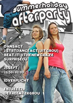 Summer Holiday Afterparty (flyer)