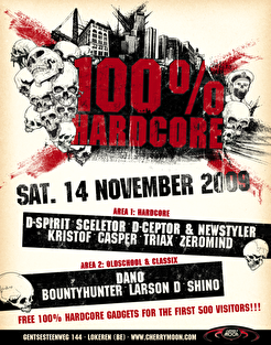 100 % Hardcore (flyer)