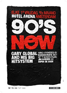 90's Now! (flyer)