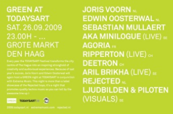 Green at Todaysart (flyer)