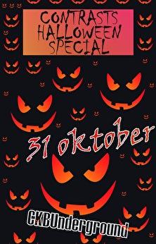 Contrasts Halloween Special (flyer)
