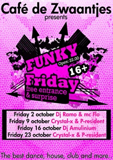 Funky Friday (flyer)