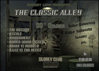 Classic Alley (flyer)