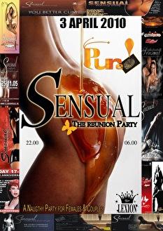 Pure! Sensual (flyer)