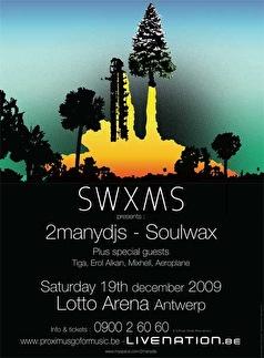 Soulwaxmas (flyer)