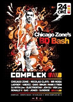 Chicago zone birthday bash (flyer)