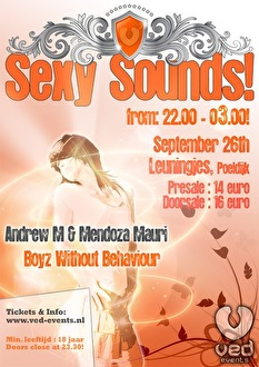 Sexy Sounds! (flyer)