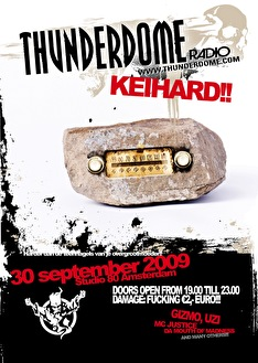 Thunderdome Radio (flyer)