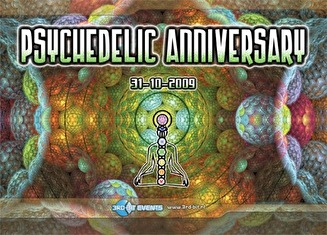 Psychedelic Anniversary (flyer)