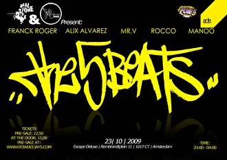 The 5 Beats (flyer)