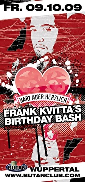 Frank Kvitta´s Birthday Bash (flyer)