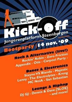 Kick-Off Jongerenplatform Steenbergen (flyer)