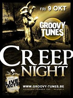 CrEep NiGhT (flyer)