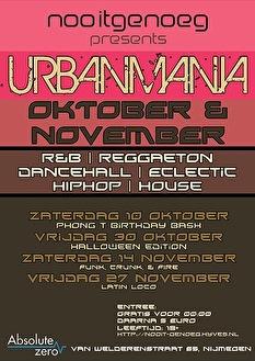 Urban Mania (flyer)