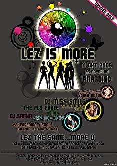 Lez is More (flyer)