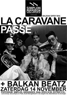 Balkan Beatz + La Caravane Passe (flyer)