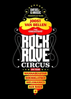 Greatest Rock n Rave Circus (flyer)