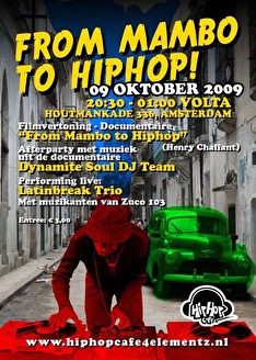 From mambo to hiphip (flyer)