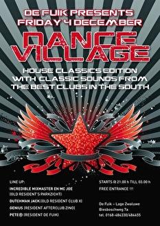 Dance Village (flyer)