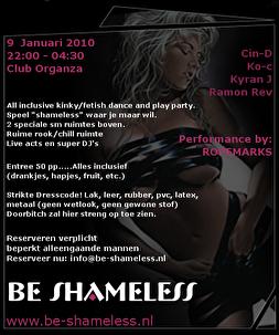 Be Shameless (flyer)